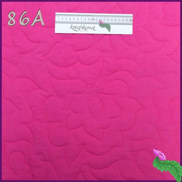 86 A - Heldækkende bladmotiv. Motivet er det samme som mønster 15 og 21, blot større og mønsster 87, blot mindre